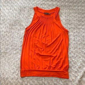 The Limited coral sleeveless top